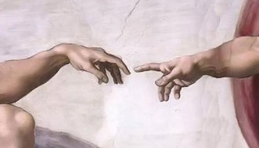 Creation of Adam (the touch)